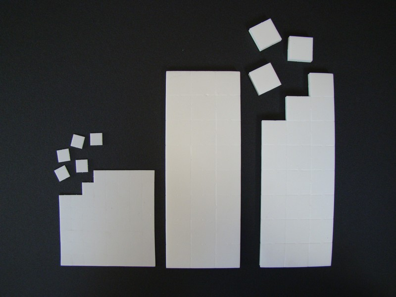 Proložky a dílce pro přepravu výrobků 2